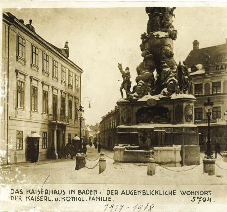 """""""Kaiserhaus Baden – Letzte Station habsburgischen Kaisertums"""""""
