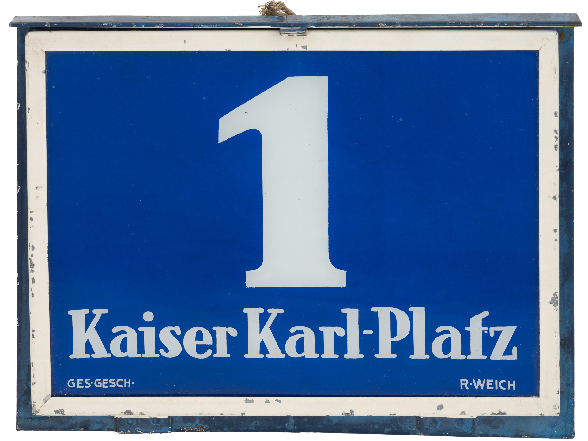 """You are currently viewing """"Kaiser Karl – Friedenssuche in Baden?"""""""