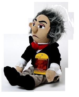 Beethoven-Plüschpuppe
