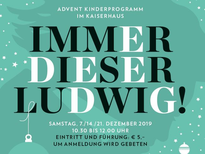 You are currently viewing IMMER DIESER LUDWIG!